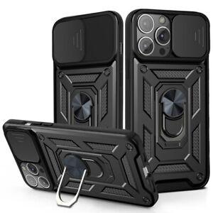 Armor Soft TPU Back Cover Bumper Slide Armor Shockproof Case For iPhone 13 11 12