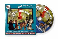 Cat Dreams DVD Movie Nature Sights & Sounds that cats love! For cats and kittens