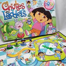 Dora the Explorer Chutes and Ladders Board Game Replacement Parts Pieces Figures