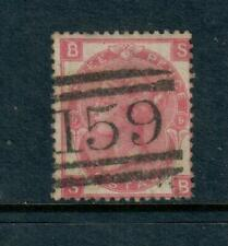 Great Britain Used Scott # 49, Plate 6 Scv $62.50 Free Ship inside of Usa