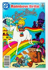 Rainbow Brite and the Star Stealer #1 (1986 DC) Jose Delbo, Movie Adaptation VF+