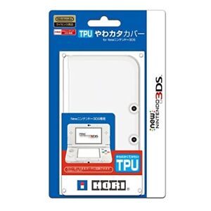 Hori TPU SOFT Protect Case Cover Clear for  NEW Nintendo 3DS  19.8 x 12 x 3.5 cm