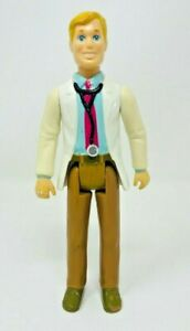Vintage 1993 Playskool People Doctor Loving Family Dollhouse Doll Figure