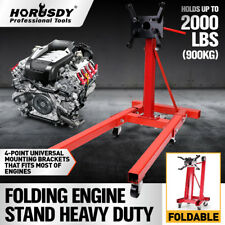 900kg Heavy Duty Engine Stand Workshop Car Auto Folding Crane Hoist Auto Motor