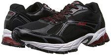 Avia Pulse Men's Running Sneaker Shoe Black Steel Gray Red 7 A5636MBVR