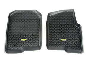 Fits Ford F150 2004-2008 Black  Floor Liners Front  398290201