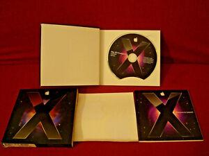 MAC OS X LEOPARD VERSION 10.5.1 20093 COMPLETE BUNDLE 1 DISC IN ORIGINAL BOX