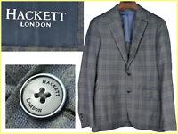HACKETT LONDON Giacche Uomo 48 EU / 38 UK / 38 US Fino - 80 % HA27 N2G