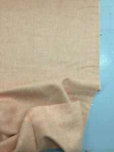 Express delivery throw blanket natural wool fabric for coat Super soft and gentle striped brown orange colors wool fabric by the 12 yard