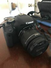 DSLR CAMERA: Canon EOS 600D with accessories