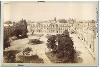 ND., France, Caen, La Place de la République  Vintage albumen print  Tirage al