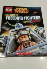 Disney Lego Star Wars Galactic Freedom Fighters Comics & Activity Book FREE POST