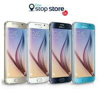 Samsung Galaxy S6 Black White Gold SM-G920 32GB 4G Unlocked Smartphone