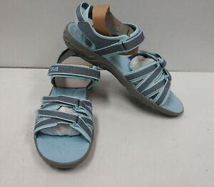 Teva Girls' Tirra Open Toe Athletic & Outdoor Sandals, Citadel - 5 US