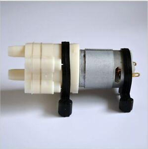 2PCs 12V DC R385 Mini Aquarium Pump Fish Tank Motor for Diaphragm Water/AIR Pump