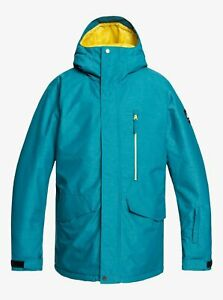 Quiksilver 10K DryFlight® Men's Mission Snow Jacket **NEW WITH TAGS**