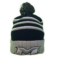 05166748ced 1 Dozen Cuglog Mont Ventoux Thick Cable Knit Stripped Beanies Pom ...