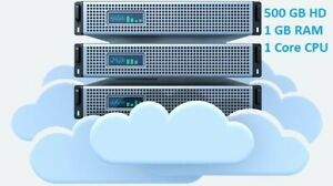 Storage Virtual Private Server VPS - 500 GB storage, Unlimited bandwidth