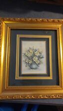 Paper Tole Shop  Flower Framed Shadowbox 3D Picture Art Decoupage