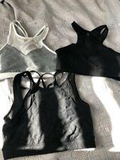 Lorna Jane - 4 x size medium bra tops