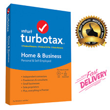Intuit Turbo Tax Home Business 2019