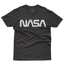 NASA VINTAGE WORM - T-shirt Uomo - Official Merchandise - Prodotto Ufficiale