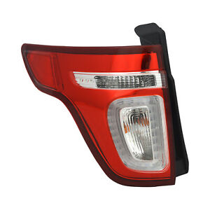 New Premium Fit Driver Side Tail Light Assembly BB5Z13405C CAPA