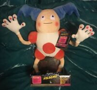 NEW 2019 Detective Pikachu Mr. Mime Pokemon Movie Posable Plush Collectible