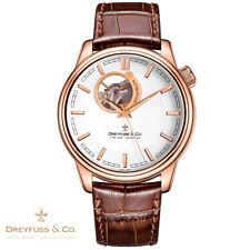 Dreyfuss & Co. DGS00163/02 . Automatik 1925 . Leder braun Armbanduhr Herren NEU