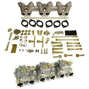 Genuine Weber 3 X DCOE40 carburettor carb manifold linkage kit Triumph TR6