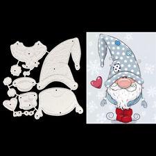 Santa Claus Metal Cutting Dies Stencil DIY Scrapbooking Album Paper Card Craft