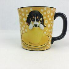Keith Kimberlin Collectible Coffee Mug Hound Dog Gold and Black