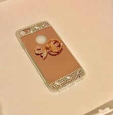 Luxury Bling Mirror case Bow-Rose Gold iPhone 7 plus