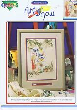 Exposición De Arte Cuadro De Punto De Cruz Patrón Niños Pintura P Olson