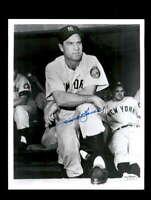 Hank Bauer JSA Coa Hand Signed 8x10 Photo Autograph
