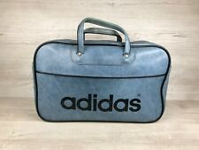 Adidas Bolso escolar Bolsa De Viaje Vintage Negro Peter, azul talla pequeña,