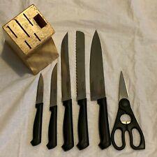 BergHOFF 7 Piece Knife Block Essentials