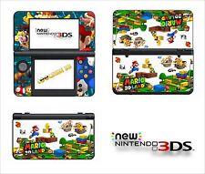 SKIN STICKER AUTOCOLLANT - NINTENDO NEW 3DS - REF 176 SUPER MARIO LAND 3D