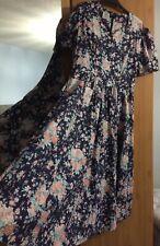 Laura Ashley Vintage Floral Tea Dress Size 18