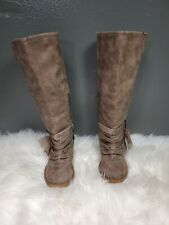 Jelly Pop Girls Boots size 11 color Brown