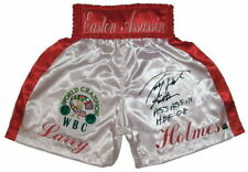 "Larry Holmes ""Easton Asassin"" Autographed Signed Boxing Trunks ASI Proof"