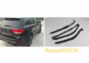 2PCS FRONT 2 PCS REAR Fender Flares Extensions For Jeep Grand Cherokee 2014-2020
