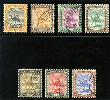 Sudan 1921 KGV set complete very fine used. SG 30-36. Sc 29-35.