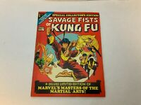 Marvel Special Collectors Edition #1 SAVAGE FISTS OF KUNG FU 1975