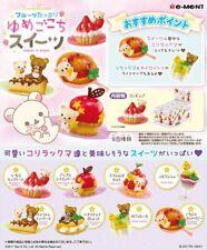 Re-ment Korilakkuma Rilakkuma Sweets in dream Miniature Figures Full set 8pc