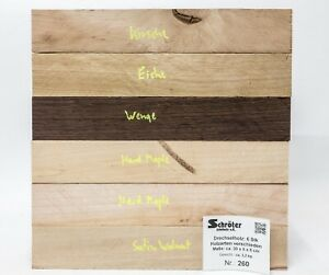 Woodturning Various Kantel Knife Handle Blank Knifemaking Pen Plank 260