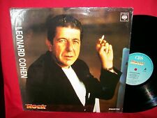 LEONARD COHEN rare PROMO only LP 1988 ITALY MINT-  >