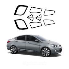New Carbon Interior Molding Set Trim K229 for Hyundai ACCENT 4/5door 2012-2013