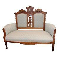 Victorian Eastlake Antique Sofa 1800-1899 #3011