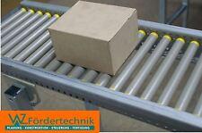 Transportband, Rollenbahn 1500 x 250 mm mit Leichtlaufrollen für 8 kg Pakete